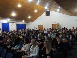 Palestra Educa��o Financeira aconteceu dia 13 de Outubro no Centro Cultural de Feliz