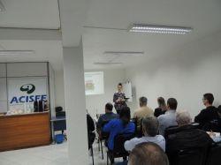 Núcleo Comércio e Serviços da ACISFE realizou reunião com o poder público