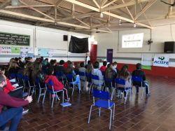 Palestras nas Escolas com apoio do Fundo Social SICREDI