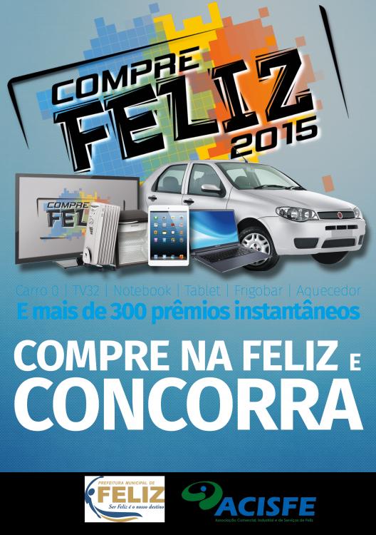 Inicia a Campanha Compre Feliz 2015!