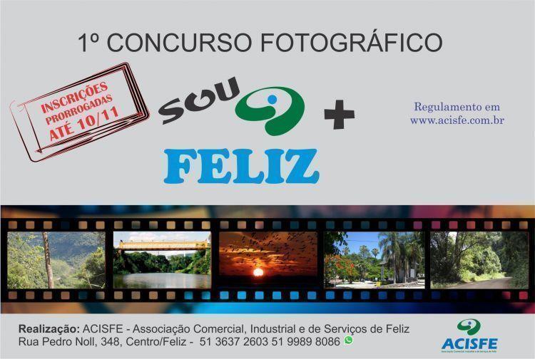 1� Concurso Fotogr�fico SOU + FELIZ