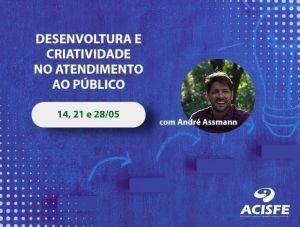 O Curso Desenvoltura e Criatividade no Atendimento ao Público acontece em maio