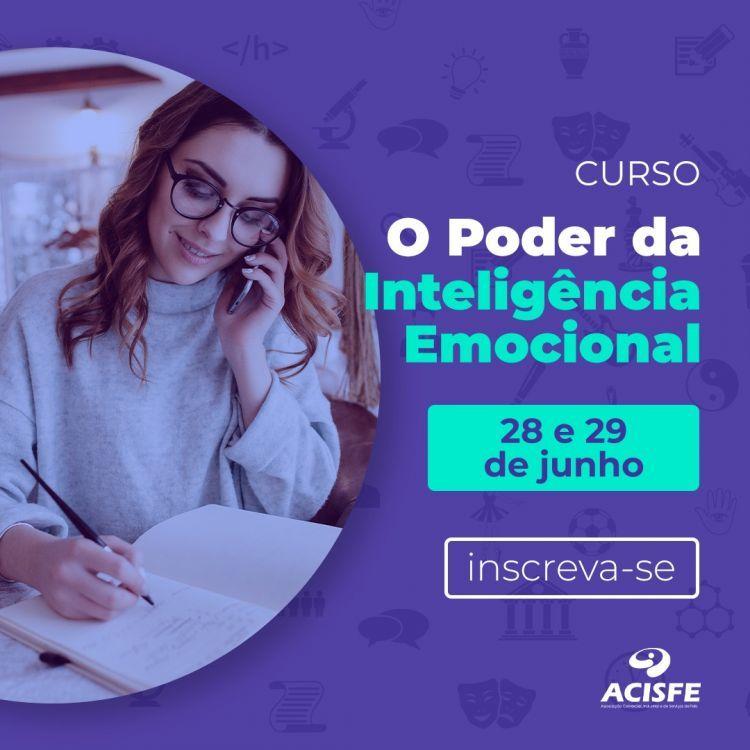 Curso O Poder da Inteligência Emocional acontece dias 28 e 29 de junho