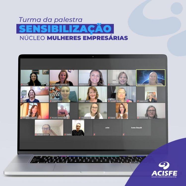 ACISFE realiza projeto de formação de um Núcleo de Mulheres Empresárias