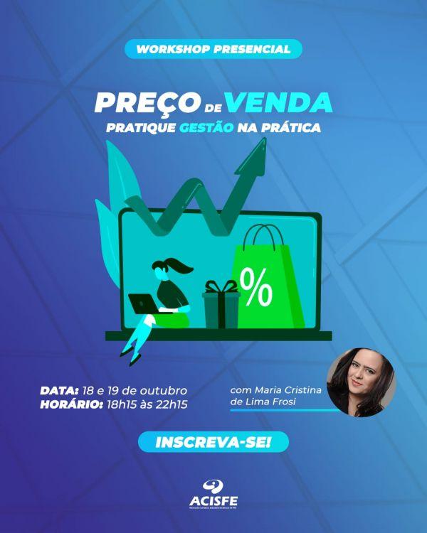 WORKSHOP PREÇO DE VENDA